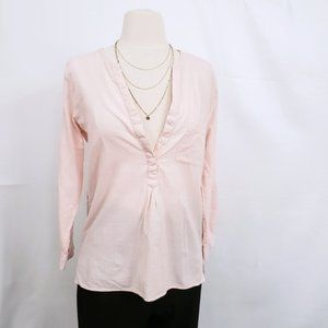 Joie Blush Pink Popover Top